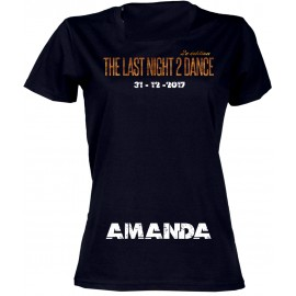 RESERVES TEE-shirts Femme/Homme: LAST NIGHT TO DANCE