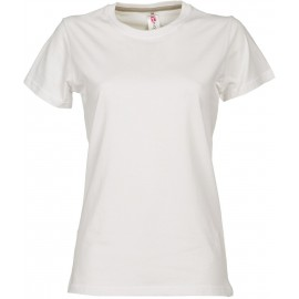 Tee shirt SUNSET Rouge / Vert / blanc