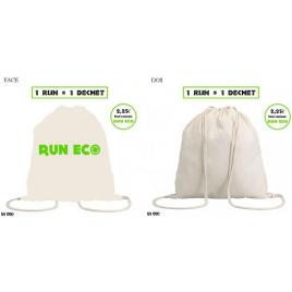 Sac en coton personnalisé Run Eco