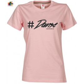 Tee shirt SUNSET LADY: Danse PAILLETTES