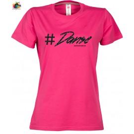 Tee shirt SUNSET LADY: Danse PAILLETTES