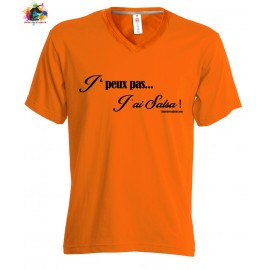 TEE-shirt Femme/Homme: J'peux pas j'ai SALSA