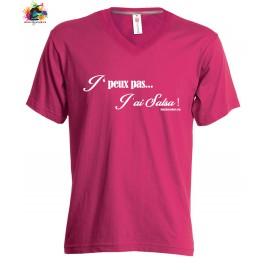 TEE-shirt Femme/Homme: J'peux pas j'ai SALSA WHITE