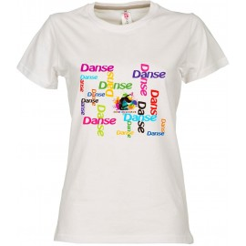 TEE SHIRT Colors of Dance