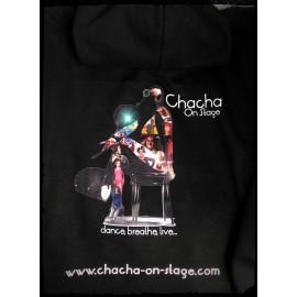 SWEAT Zippé personnalisé: Chacha on Stage©