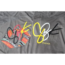 TEE-shirt Gris fumé LATIN : COLLECTION SBK