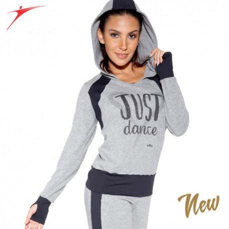 Sweat-shirt à capuche de danse: JUST DANCE So dança