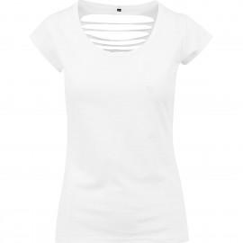 Top tee shirt dos à lanières sexy