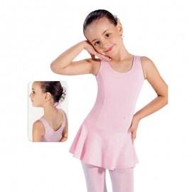Justaucorps enfant jupe intégrée SO DANCA