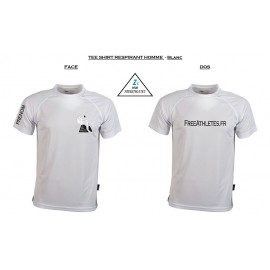 Tee shirt sport RESPIRANT Homme personnalisé FREEATHLETES