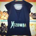 Tee shirt Femme dos à lanières - COLLECTION KIZOMBA