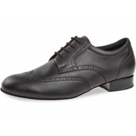 Chaussure de danse homme cuir et nubuck gris 099-025-028
