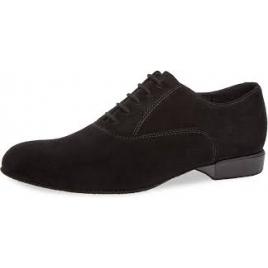Chaussures de danse Homme Nubuck noir - Comfort 180-025-001