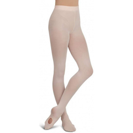 Collant convertible ESSENTIALS Fille Capezio V18831C Rose ballet SM (4-9 ans)