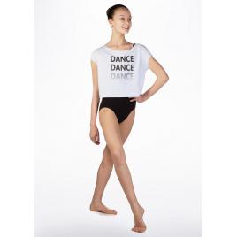 Tee-shirt court ajouré dans le dos - SO DANCA