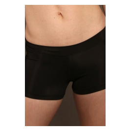 Shorty noir Adulte microfibre NERO - PRIDANCE