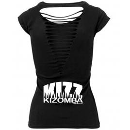Tee-shirt sexy Femme dos ajouré: KIZOMBA