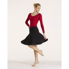 Jupe de danse latine viscose Ventura - TEMPS DANSE