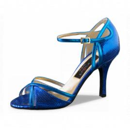 Chaussures danse de salon strass et nubuck- Werner Kern-