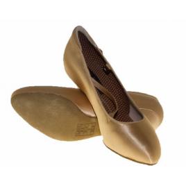 Chaussures standard ADS Femme TAN satin