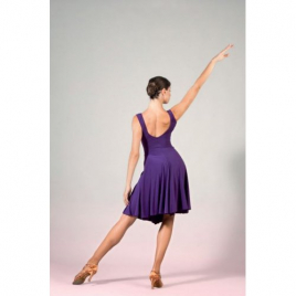 Robe de danse en col V LA609W-SHEDDO