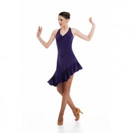 Robe de danse dos nu larges bretelles LA602W-SHEDDO