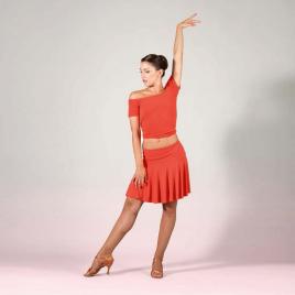 Jupe de danse latine fluide-SHEDDO