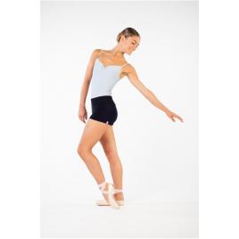 Short de danse adulte en maille ajustée-CAPEZIO