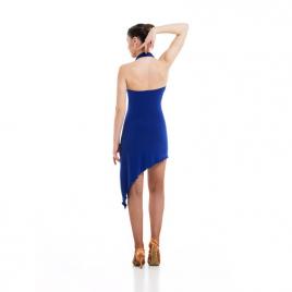 Robe de danse courte avec larges bretelles nouées-SHEDDO