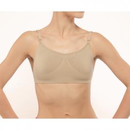 Brassière de danse invisible à bretelles interchangeables et dos transparent-DANSEZ-VOUS