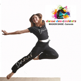 Tee-shirt court DANCER Adulte en viscose - TEMPS DANSE