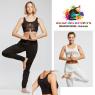 Débardeur court viscose yoga pilates adulte-TEMPS DANSE