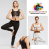 Débardeur court viscose yoga pilates adulte-TEMPS DANSE