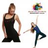 Débardeur de danse viscose Adulte Logo Dance-TEMPS DANSE