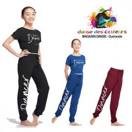 PANTALON de danse unisexe: DANCER pour enfant-TEMPS DANSE