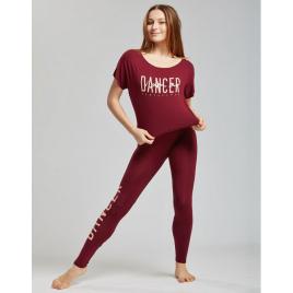 legging de danse fluide Adulte adalie graphik -TEMPS DANSE