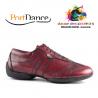 Chaussures de Danse PIETROSTREET Homme cuir Bordeaux - PORTDANCE