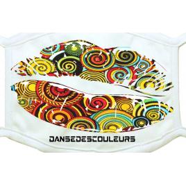 Masque de Protection Basic : Collection BALLROOM 2-Magasin Danse Des Couleurs