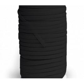 Elastique plat noir 10 mm - MERLET