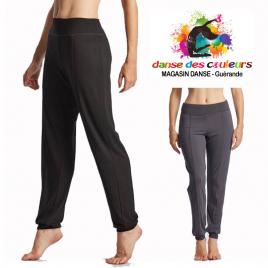 Pantalon COVER fluide de danse yoga viscose adulte-TEMPS DANSE