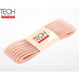 Elastique mesh nude pour pointes chaussons - TECH Dance