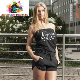 Tee-shirt col MAO: KIZOMBALOVE