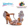 Chaussures latines internationales Swarovski de différentes couleurs BELA-IDS