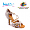 Chaussures latines internationales Swarovski et perles MIA-IDS