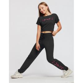 Pantalon unisexe DANCE en viscose Adulte-TEMPS DANSE