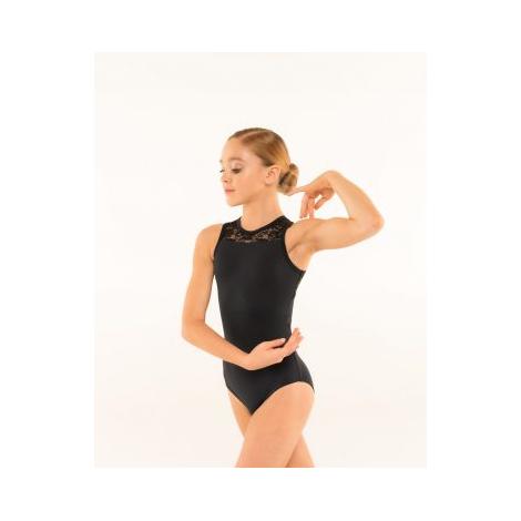 Justaucorps dentelles Enfant Antoinette - BASILICA DANCEWEAR