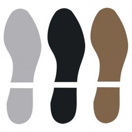 SEMELLES suède noir pour chaussures Homme -TECH DANCE