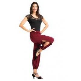 Pantalon de Danse latine Tango fendu - RUMPF