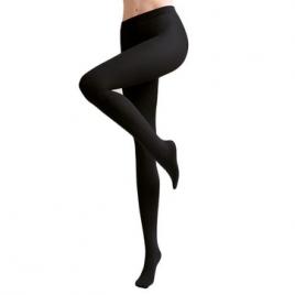 Collant avec pieds Soft Opaque Noir 40D - SILKY