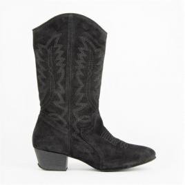Bottes Line dance boots hautes en peau-RUMPF